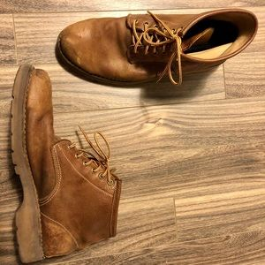Genuine leather Roots boots
